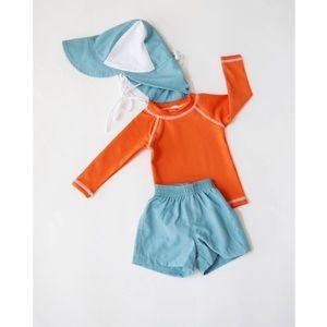 Other - Boys Long Sleeve Rash Guard / Baby boy swimsuit